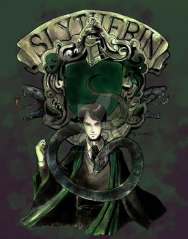Heir of Slytherin by incaseyouart