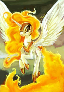 You shall not hurt my little ponies by The-Keyblade-Pony