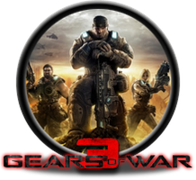 Gears of War 3 Button by GAMEKRIBzombie