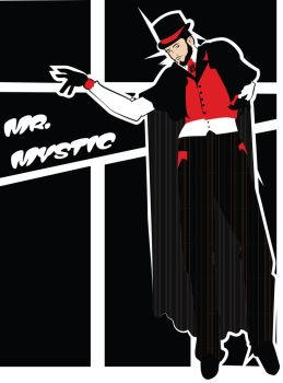 Costume Design: Soon I Will Be Invincible: Mr. M by phantomonex