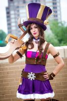 The Sheriff of Piltover by missKMC13