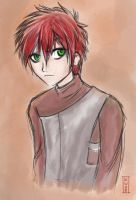Sabaku no Gaara by IsolatedHowl