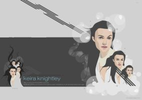 Keira Knightley by idnjay