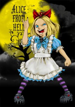 Alice From Hell_01 by hirokix