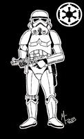 (Star Wars) Imperial Storm Trooper by CrashyBandicoot
