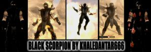 BLACK SCORPION by Khaledantar666