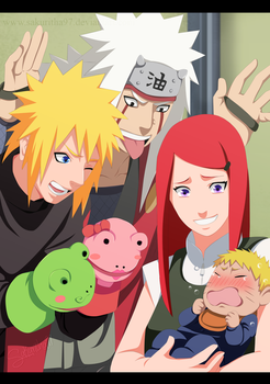 Uzumaki Family by Sakuritha97
