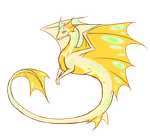 Unnamed Light Dragon by Whitefire321