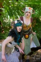 Fauns by AstroKerrie