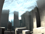 clouds/smoke by heightmap #2 - MB3D with Paras by matze2001
