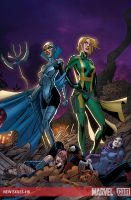 NEW EXILES 16 cover by ColtNoble