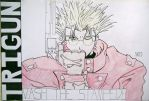 Vash the Stampede Trigun by SurfTiki