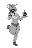 Disneyified Toy Chica by QuantumMirage