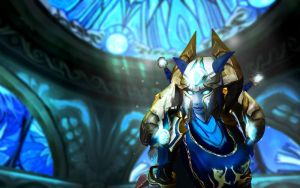 Veyl - Draenei Paladin by Findae-Wallpapers