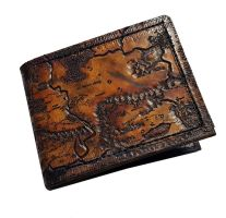 Middle Earth Map leather wallet by Bubblypies