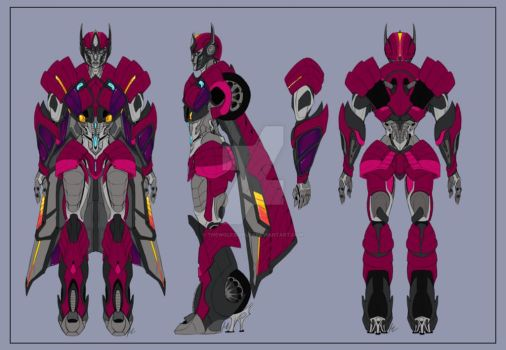 Rixia Bayverse Sheet By Thewolfsgirl90 by VendettaPrimus