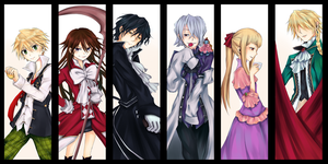 Pandora Hearts by doedenki