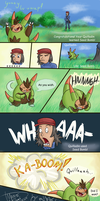 Quilladin used seed bomb by WeirdaMirrart