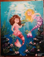 Mermaids by MandolinDoodler