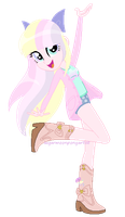 Sugar Moon eqg re-design by SugarMoonPonyArtist