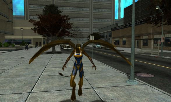 City of Heroes The Gryphon by CaptFox