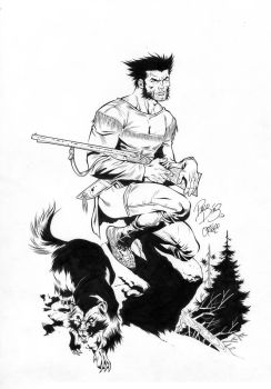 Wolverine for John Barber by willortego