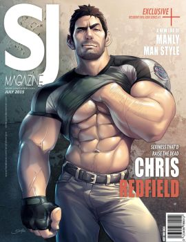 SJ mag - Chris Redfield by silverjow
