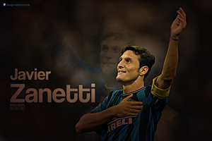 Javier Zanetti wallpaper by RafaelVicenteDesigns