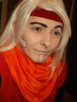 Makeup Test: Prohyas from Mighty Magiswords by DivineWarriorCosplay