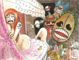 Frightened nakama. by R-jin