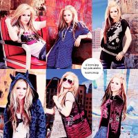 6 icons from jpg Avril Lavigne by Kosmomap