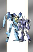 Cyclonus and Whirl Botcon 2014 by TGping