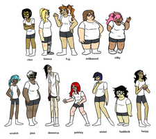 Misc TGf Humanized by blinkpen