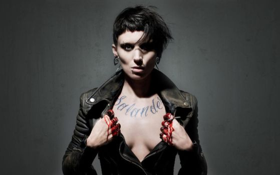 Rooney Mara as Lisbeth Salander by Amska