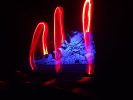 Light painting Shoe by XeniumH