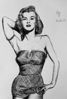 Marilyn Monroe by SzymonWajner