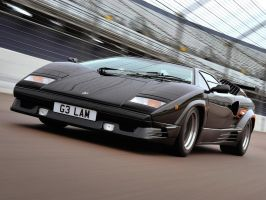 Lamborghini Countach by Wowches