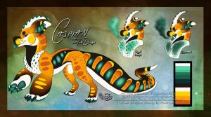 Caspian the Fumi by Rainbow-Foxy