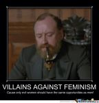VILLAINS AGAINST FEMINISM!- Dr. Worley by RosePainting