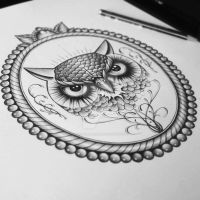 Owl Frame by EdwardMiller