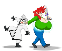 -COM- Scolding the Scientist Supervillain by ProjectHazoid
