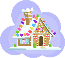 Gingerbread House by Zaeinn