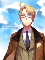 [APH] Alfred F. Jones by namioki-chan