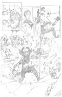 Mighty Avengers Portfolio Page 2 by VictorMV
