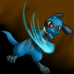 Riolu by recipe-for-disaster