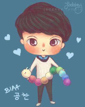 B1A4 Channie And Wormie by Jadekyy