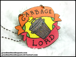 Garbage Lord Necklace by GrandmaThunderpants