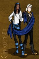 Wallpaper: Scarves are useful by WaywardInsecticon