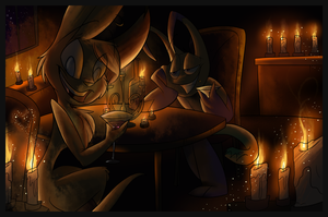 Romance by Candlelight by VivzMind