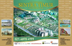 Backwall Sentra Timur Residence (jan 2013) by jumidsgn
